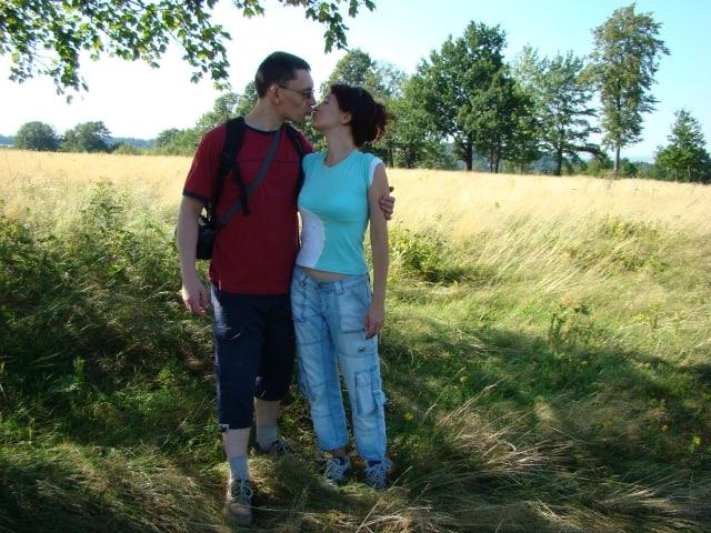 Joanna i Tomasz w 2007 roku