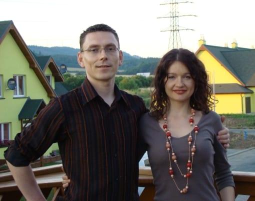 Asia i Tomek w 2008 roku