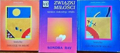 Okładki książek Sondry Ray w języku polskim
