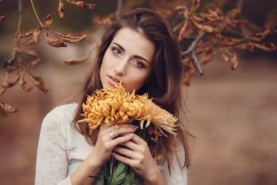 Kobieta i jesień