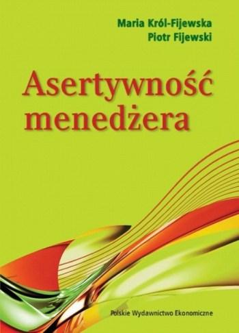 Asertywność menedżera - książka