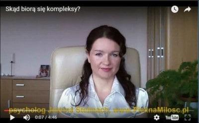 """Screen z wideo """"Skąd biorą się kompleksy"""" www.PieknaMilosc.pl"""