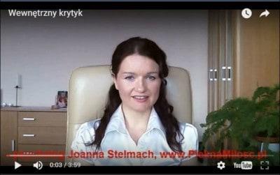 """screen z wideo """"Wewnętrzny krytyk"""" www.PieknaMilosc.pl"""