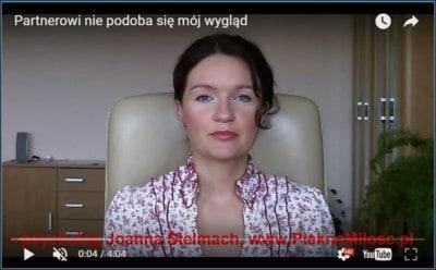 """screen z wideo """"Partnerowi nie podoba się mój wygląd"""" PieknaMilosc.pl"""
