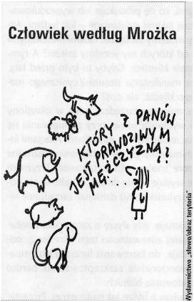 rysunek Mrożka