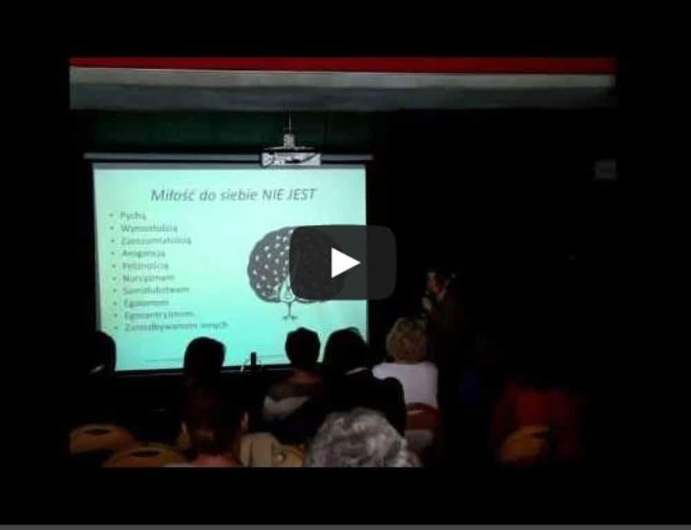 O miłości do siebie – fragment wykładu [wideo]