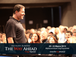 Anthony Robbins - The Way Ahead