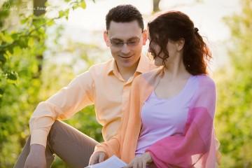 Joanna i Tomasz 2015 r.