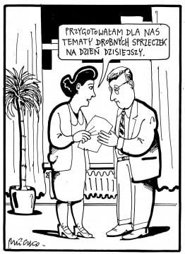 Małżeństwo rysunek Mleczki