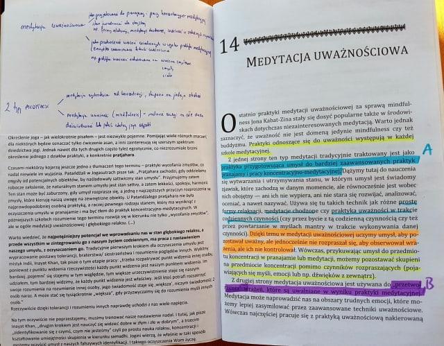 """Notatki na marginesie książki """"Uważność w praktyce"""""""