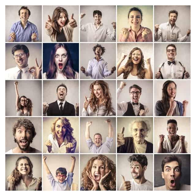 Portrety szczęśliwych ludzi