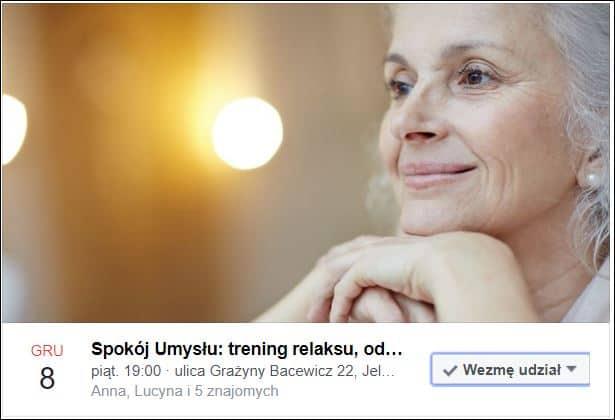 Spokój Umysłu - wydarzenie na Facebooku